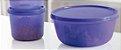 Tupperware Kit 2 peças Tigela Visual Roxo - Imagem 1