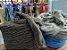 Lã Natural Preta ou Moura - Pacote com 100Gr - Imagem 1