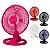 Ventilador Oscilante de Mesa ou Parede Colors 50 cm Venti-Delta - Imagem 1