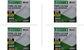 Kit 4 Paineis de led Taschibra 24W Lux quad sob 3000K AM - Imagem 1