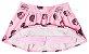 Conjunto blusa e short-saia Mundi mescla/rosa - Imagem 4