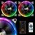 Cooler para Gabinete Darkflash (12x12) DR12 Pro RGB 3 Peças - Imagem 3