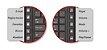 Kit Teclado e Mouse C3Tech K-W50BK Wireless Multimidia Preto - Imagem 4