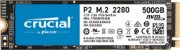 Hd SSD 500gb M.2 Nvme 2280 Crucial - CT500P2SSD8 - Imagem 1