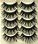 Caixa com 5 pares de Cílios Postiços Volumosos 007 - Imagem 2