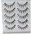 Caixa com 5 pares de Cílios Postiços Cruzado - A533 - Imagem 2
