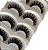 Caixa com 5 pares de Cílios Postiços Volumosos DF001 - Imagem 2