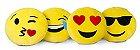 Kit 2 Almofadas Emoji Oficial Antialérgica 33cm - Imagem 2