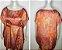 Vestido-Túnica Curto Grafismo Tam Único - Imagem 5