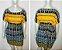 Vestido-Túnica Curto Indiano Tam Único - Imagem 3