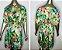 Vestido-Túnica Curto Floral Tam Único - Imagem 3