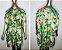 Vestido-Túnica Curto Floral Tam Único - Imagem 5