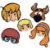 Máscara - Scooby Doo - 08 unidades - Imagem 1