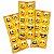 Adesivo Redondo Decorativo - Emoji - 03 cartelas - Imagem 1