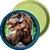 Prato de Papel - Jurassic World - 08 unidades - Imagem 1