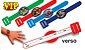 Convite Pulseirinha VIP - Os Vingadores - 08 unidades - Imagem 1