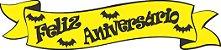 Faixa Feliz Aniversário EVA - Morcego - Imagem 1