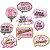 Kit Placas - Flamingo - 09 unidades - Imagem 1