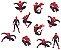 Aplique Impresso - Homem Aranha - 12 unidades - Imagem 1