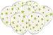 Balão Latéx - Neon Branco com Verde - 25 Unidades  - Imagem 1