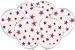 Balão Latéx - Neon Branco com Rosa - 25 Unidades  - Imagem 1