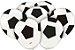 Balão látex 9 Polegadas - Futebol - 25 unidades - Imagem 1