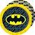 Prato de Papel - Festa Batman Geek - 16 unidades - Imagem 1