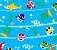 Tnt Estampado - Baby Shark - 1 metro - Imagem 1