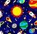 Tnt Estampado - Astronauta- 5 metros - Imagem 2