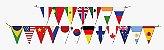 Faixa Decorativa  Bandeira Now United Festcolor - Imagem 1