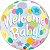 """Balão Bubble 22"""" Welcome Baby - 56 cm - Imagem 1"""