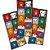 Adesivo Quadrado - Harry Potter Kids - 30 und - Imagem 1