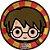 Prato de Papel - Harry Potter Kids- 08 unidades - Imagem 1