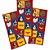 Adesivo Quadrado - Mulher Maravilha Kids - 30 unidades - Imagem 1