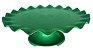 Mini Boleira - Verde Sólido Ondulada -  21cm - Imagem 1