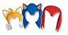 Acessórios de Papel - Sonic  - Imagem 1