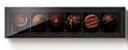 Caixa retangular para 6 doces - Preta - Imagem 1