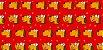 Tecido  -  Cachorro fd vermelho - Imagem 2