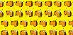 Tecido  -  Cachorro fd amarelo - Imagem 2