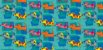 Tecido  -  Cachorrinhos Coloridos  - Imagem 2