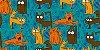 Sacola Gatos variados - Imagem 2