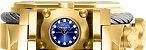Relógio Invicta Reserve 26585 Bolt Zeus Magnum 52mm Mostrador Azul Cronógrafo Suíço - Imagem 4