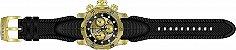 Relógio Invicta 90147 Venom 53.7mm Banho Ouro 18k Suíço - Imagem 2