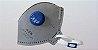 MASCARA HOSPITALAR KSN N95 PFF2 COM VALVULA CA 10579 - Imagem 1