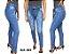Calça Jeans Feminina com Cinto e Cintural Alta - Imagem 7