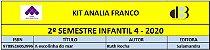 KIT ANALIA FRANCO - 4 INFANTIL 2º SEMESTRE 2020 - Imagem 1