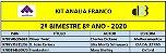 KIT ANALIA FRANCO - 8º ANO - 2º BIMESTRE 2020 - Imagem 1