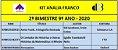 KIT ANALIA FRANCO - 9º ANO - 2º BIMESTRE 2020 - Imagem 1