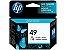 Cartucho de tinta HP 49 colorido - 51649A - Imagem 1