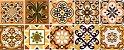 Kit Ladrilho Rustico - Com 40 peças de azulejos 15,4 x 15,4 cm  - Imagem 1